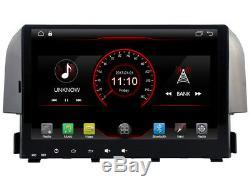 Car DVD Navi Gps Android 9.1 Dab + Usb Wifi Carplay Honda CIVIC 2016 K6322