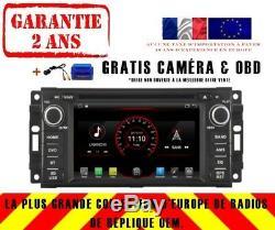 Car DVD Navi Gps Android 9.1 Dab + Usb Wifi Jeep Wrangler Patriot K6839