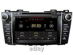 Car DVD Navi Gps Android 9.1 Dab + Usb Wifi Mazda 5 Premacy 2009-12 K6625