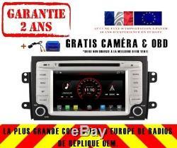 Car DVD Navi Gps Android 9.1 Dab + Usb Wifi Suzuki Sx4 2006-12 K6657