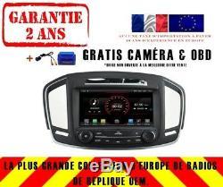 Car DVD Navi Gps Android 9.1 Dab + Wifi Carplay Opel Insignia 2014+ K5548