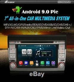 Car Erisin Es7771f 7 Fiat Bravo 9.0 For Android Wifi Dvb-t Navi DVD 4g