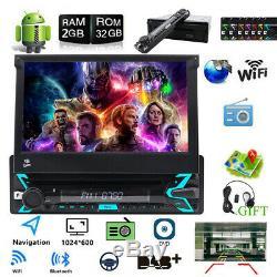 Car Gps Android 10 Single 1 Din Navigation DVD Navi 4g Wifi Obd2 Car Dab +
