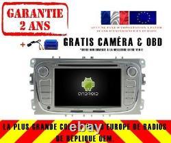 Car Gps Android 9.0 Dab + Navi Ford S-max (08-11) Galaxy (11-12) Rv5762s