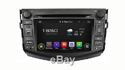 Car Naviceiver Android 5.1 Quadcore Wifi Bt Gps Navi Toyota Rav4 2006-2012