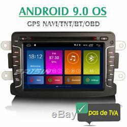 Car Stereo Android 9.0 Renault Dacia Sandero Duster Logan Lodgy Gps Navi DVD Usb