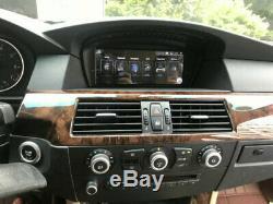 Car Stereo Raido Android 9.0 For Bmw 3 Series E60 E61 E90 5 Navi Gps Receiver