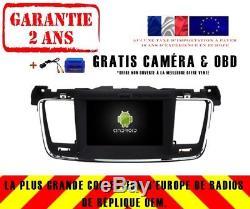 DVD Gps Navi Car Audio Android 8.0 4gb Dab + Wifi Peugeot 508 V5637