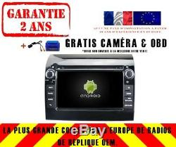 DVD Gps Navi Car Audio Android 9.0 4gb Dab + Wifi Fiat Ducato Rv5586