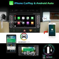 Dab + 10.0 Android Car Gps Tnt Carplay Navi DVD For Vw T5 Multivan V Touarge