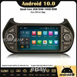 Dab + 10.0 Android Car Gps Tnt Rds Fiat Fiorino Citroen Peugeot Bipper Navi