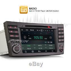 Dab + Android 7.1.2 Gps Car Radio Obd2 Navi Mercedes-benz E / Cls / G Klasse W219 W211