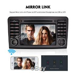 Dab + Android 8.1 Car Gps Gps Tnt Wifi Mercedes ML / Gl Class W164 X164 Navi DVD