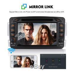 Dab + Android 8.1 Car Radio Mercedes Benz C / Clk / G Class Vito Viano W203 W209 Navi