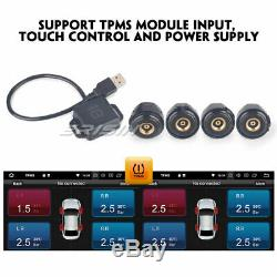 Dab + Android 8.1 Detachable 1din Car Radio Navi Wifi Usb Obd2 Tnt-in Rds Tpms CD