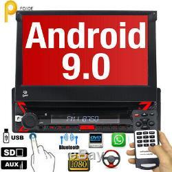 Dab + Android 9.0 1din Car Navi Usb Wifi Obd2 Tnt-in Rds CD Tpms Anti-theft