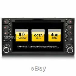 Dab + Android 9.0 Car DVD Gps Navi Toyota Corolla Vios Rav4 Vitz Yaris Hilux