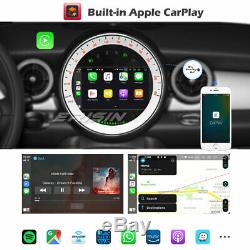 Dab + Android 9.0 Car Gps Carplay Dsp Wifi Tnt Navi Bt5.0 4g Bmw Mini Cooper