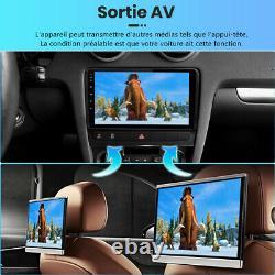 Dab Autoradio For Audi A3 2 (2003-2013) Navi Gps Android 10.0 Wifi Dsp 2-32gb