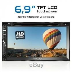 Dab + Car Audio With Android 6.0.1 2gb 32gb Navi Usb DVD Sd Wlan Bluetooth 2din