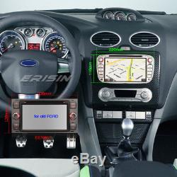 Dab + Car Radio For Ford Mondeo Focus S / C-max Android Galaxy 8.0 Navi Bt Tnt DVD