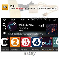 Dab + Navi Android 8.1 Universal 2din Car Stereo Wifi Dtv Obd2 Cam-in 4g Bluetooth
