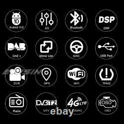 Dab-navi Dsp Autoradio Android 10.0 Toyota Corolla Vios Avanza Hiace Hilux Prado