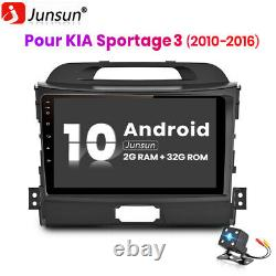 Double Din Autoradio 9 Android 10.0 Navi For Kia Sportage 3 2010-2016 Gps Wifi