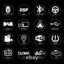 Double Din Gps Radio Navi Renault Megane II 02-08 7 Android 10 DVD Player