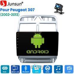 Dsp Android 10.0 Autoradio Dab+ For Popgeot 307 2002-2013 Gps Wifi Navi Swc 32g