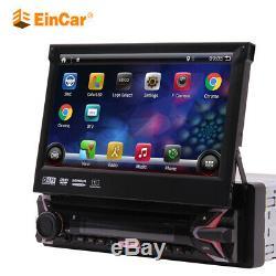 Eu Map + Android 1din 7 Car Stereo Bluetooth Car DVD Player Wifi Gps Navi Fm Aux