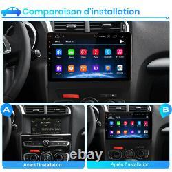 For Citroen C4l 2013-2017 Android10.0 Autoradio 2din Gps Sat Navi Bt Dab+ Wifi