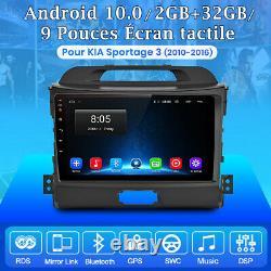 For Kia Sportage 3 2010-2016 Autoradio Android10.0 Gps Navi Stereo 2-32gb Wifi