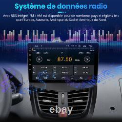 For Peugeot 207 2006-2015 Autoradio Android 10.0 Gps Navi Wifi Dab+ Dsp 2+32gb