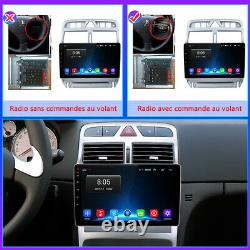 For Peugeot 307 2002-2013 2din Autoradio Stereo Gps Navi Blutooth Wifi Dsp Dab+