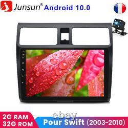 For Suzuki Swift 2003-2010 10android 10.0 Gps Radio Sat Navi Bt Dab+wifi