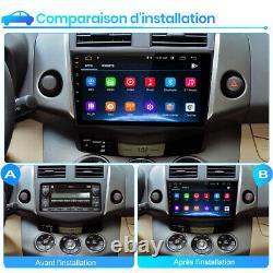For Toyota Rav4 2007-2011 9 Android 10.0 Gps Radio Sat Navi Dab Wifi Usb
