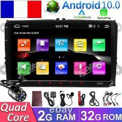 For Vw Passat B6 Jetta Golf 9 Hd Android 10 Autoradio Carplay Stereo Gps Navi