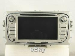 Gps Navi Android 9.0 Dab + Car Audio Ford Mondeo (07-09) Focus (08-11) Rv5762s
