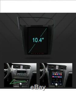 Gps Vw Golf 7 VII Mk7 Android Car Radio Touch Screen 10.4 Tesla Navi Wifi