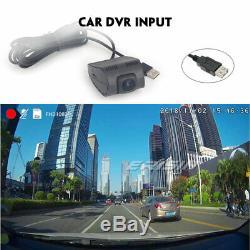 Hd Dual Din Android 8.1 Car Gps Dab + Tnt Bluetooth Wifi Obd Swc Dvr Navi