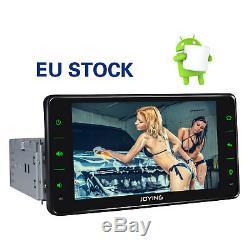 Joying Android 6.2 Car Radio Single 1 Din Quad-core Navi Fm Gps Dab + Obd2 Pip