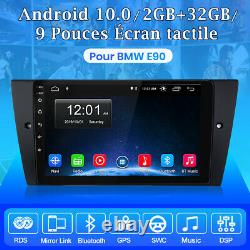 Junsun Android 10.0 9autoradio Wifi Gps Navi Bt Swc For Bmw 3 Series E90 2005