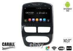 Kd1095 Autoradio Android 8.0 Renault Clio Gps DVD Usb Sd Wi-fi Bluetooth Navi