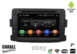 Kd7083 Autoradio Android 8.0 Dacia Duster Gps DVD Usb Sd Wi-fi Bluetooth Navi