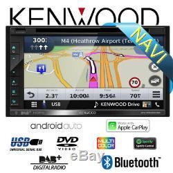 Kenwood Dnx5190dabs 2-din Navi Dab + Bluetooth Car Radio Android Carplay