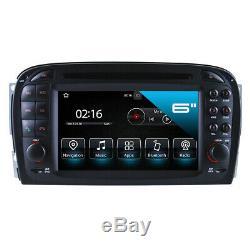 Mercedes Benz Sl 350 500 55 600 R230 7 Touchscreen Android Car Navi