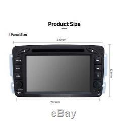 Mercedes-benz C-class W203 Clk Viano Vito Android 8 Car DVD Navi Usb Wifi