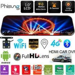 Phisung 4g Android Car Bluetooth Car Dvr 1080p Gps Navi Wifi Dash Cam