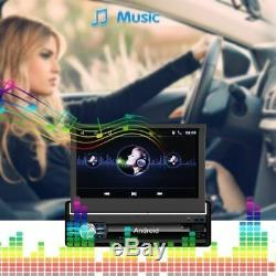 Quad Core Android 6.1 3g / 4g Wifi 7 1din Car Gps Navigation Navi Bt Stereo Radio + Cam